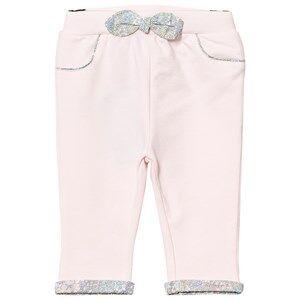 Cyrillus Girls Bottoms Pink Pale Pink Pants Floral Bow