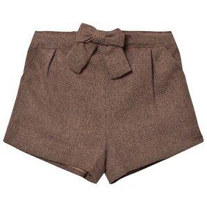Cyrillus Girls Shorts Grey Bubble Shorts Taupe Marl