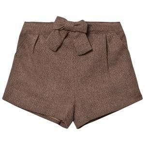 Cyrillus Girls Shorts Grey Bubble Shorts Taupe Marl