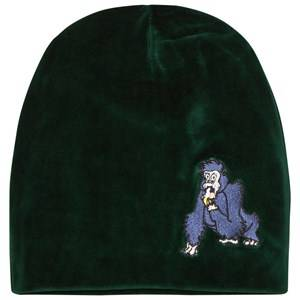 Tao&friends; Unisex Headwear Green Gorillan Velvet Beanie Green