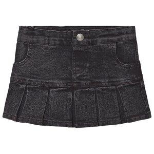 Tao&friends; Unisex Skirts Grey Denim Skirt Grey/Black