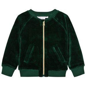 Tao&friends; Unisex Coats and jackets Green Gorillan Velvet Bomber Jacket Green