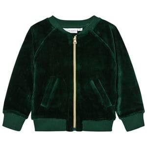 Tao&friends; Unisex Coats and jackets Green Gorillan Velvet Bomber Jacket Green