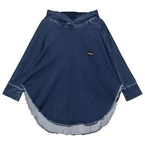 NUNUNU Unisex Coats and jackets Blue Denim Poncho Medium