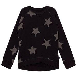 NUNUNU Unisex Jumpers and knitwear Black Star Sweatshirt Black