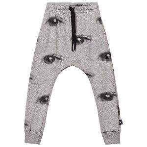 NUNUNU Unisex Bottoms Grey Eye Baggy Pants Heather Grey