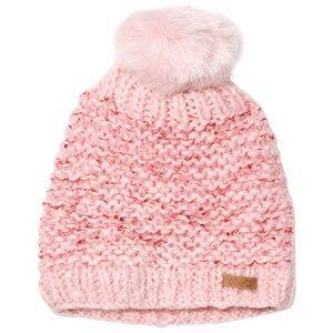 Barts Girls Headwear Pink Pom Pom Solace Beanie Peonie
