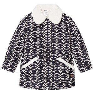 Carrément Beau Girls Coats and jackets Navy Navy/White Padded Coat