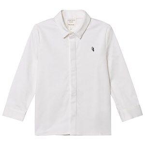 Carrément Beau Boys Tops White White Button Down Oxford Shirt