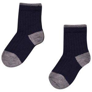 FUB Unisex Underwear Blue 2 Pack Socks Navy