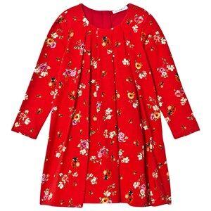 Image of Dolce & Gabbana Girls Dresses Pink Red Floral Lady Bird Dress