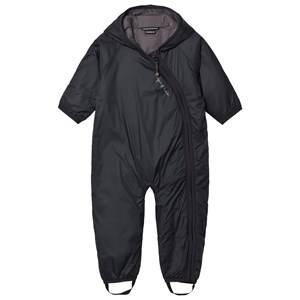 Isbjörn Of Sweden Unisex Coveralls Black Frost Baby Coverall Black