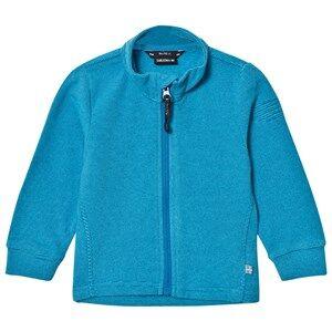 Isbjörn Of Sweden Unisex Fleeces Blue Lynx Microfleece Jacket Kids Turquoise