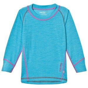 Isbjörn Of Sweden Unisex Baselayers Blue Husky Sweater Turquoise