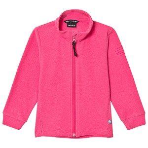 Isbjörn Of Sweden Girls Fleeces Pink Lynx Microfleece Jacket Kids Pink