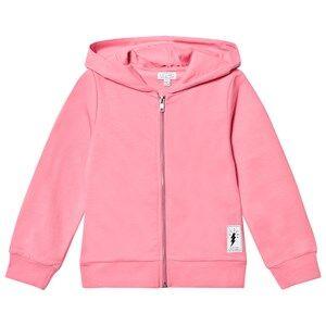 Civiliants Unisex Jumpers and knitwear Pink Flash Print Zip Hoodie Pink