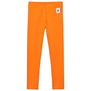 Civiliants Unisex Bottoms Orange Jersey Leggings Orange