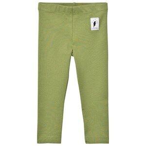 Civiliants Unisex Bottoms Green Jersey Leggings Army Green