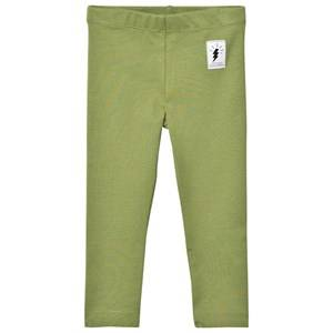Civiliants Unisex Bottoms Green Jersey Leggings Army Green