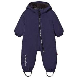 Isbjörn Of Sweden Unisex Coveralls Navy Toddler Padded Coverall Navy
