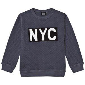 Petit by Sofie Schnoor Unisex Jumpers and knitwear Blue Sweatshirt Nyc Dark Blue