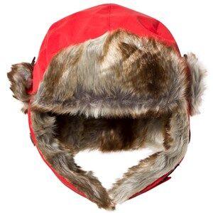 Isbjörn Of Sweden Unisex Headwear Squirrel Winter Cap Red