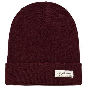 I Dig Denim Unisex Headwear Red Morris Beanie Burgundy