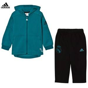 Image of adidas Performance Boys Clothing sets Blue Real Madrid Infant Hoodie and Sweatpants Set