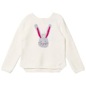 Tom Joule Girls Jumpers and knitwear Cream Cream Bunny Intarsia Knit Jumper