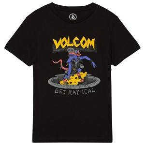 Volcom Boys Tops Black Black Ratical Graphic Tee