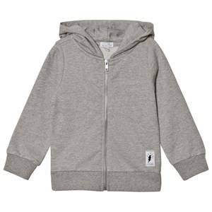 Civiliants Unisex Jumpers and knitwear Grey Flash Print Zip Hoodie Grey