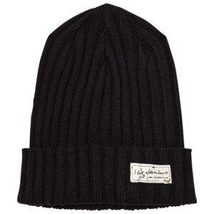 I Dig Denim Unisex Headwear Black Rufus Beanie Black