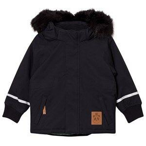 Mini Rodini Unisex Coats and jackets Black K2 Fox Family Parka Black