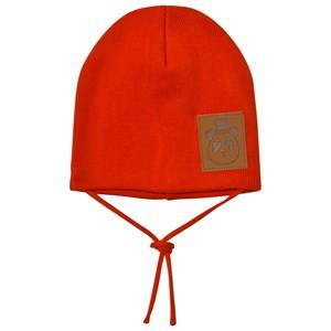 Mini Rodini Unisex Headwear Red Panda Hat Red