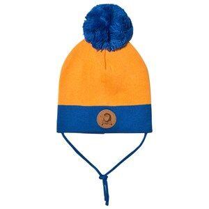 Mini Rodini Unisex Headwear Orange Block Hat Orange