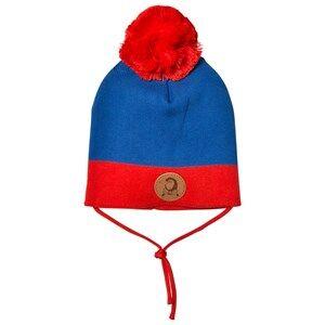 Mini Rodini Unisex Headwear Blue Block Hat Blue