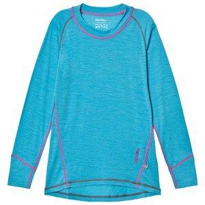Isbjörn Of Sweden Unisex Baselayers Blue Husky Sweater Baselayer Turquoise