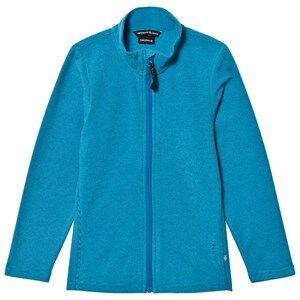 Isbjörn Of Sweden Unisex Fleeces Blue Lynx Microfleece Jacket Turquoise