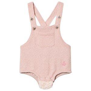 Noe & Zoe Berlin Girls All in ones Pink Pink Furry Overalls