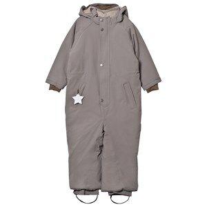 Mini A Ture Unisex Coveralls Grey Wanni K Snowsuit Steel Grey