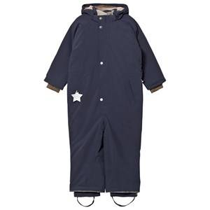 Mini A Ture Unisex Coveralls Navy Wanni K Snowsuit Blue Nights