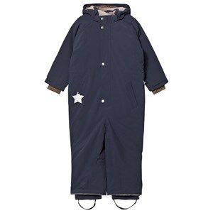 Mini A Ture Unisex Coveralls Navy Wanni K Snowsuit Blue Nights