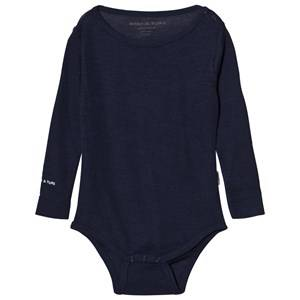 Mini A Ture Boys All in ones Blue Ellis Baby Body Mood Indigo