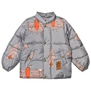 Mini Rodini Unisex Coats and jackets Grey Bat Puffer Jacket Grey