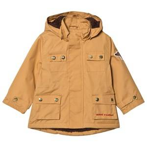 Mini Rodini Unisex Coats and jackets Beige Dog Parka Beige