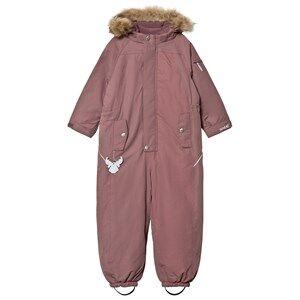 Wheat Unisex Coveralls Brown Snowsuit Miley Plum