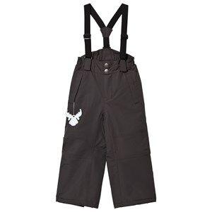 Wheat Unisex Bottoms Black Ski Pants Cassi Charcoal