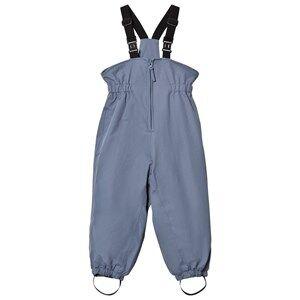 Wheat Unisex Bottoms Blue Ski Pants Elastic Blue