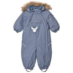 Wheat Unisex Coveralls Blue Snowsuit Nickie Blue