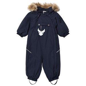 Wheat Unisex Coveralls Navy Snowsuit Nickie Navy